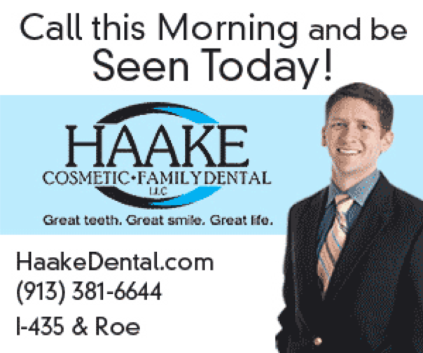example of Facebook advertisement for a dental practice